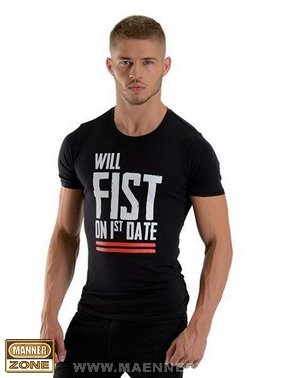 T-Shirt WILL FIST ON 1ST DATE